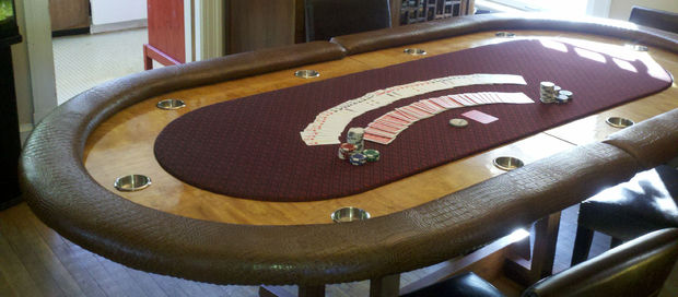 10 Unforgettable Custom Diy Poker Tables And How To Build